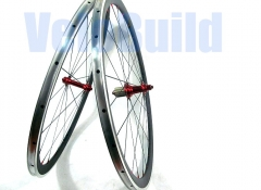 VB-RA-38-23 38mm Deep Carbon Clinchers with Alloy Brake Surface 23mm Wide