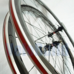 VB-RA-50-23 50mm Deep Carbon Clinchers with Alloy Brake Surface 23mm Wide
